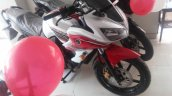 Yamaha Fazer new red color spied