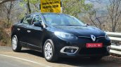 2014 Renault Fluence facelift review front three quarter