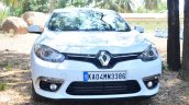 2014 Renault Fluence facelift review front