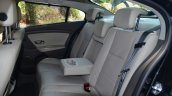 2014 Renault Fluence facelift review rear seat