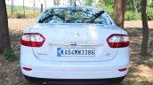2014 Renault Fluence facelift review rear shot