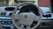 2014 Renault Fluence facelift review steering