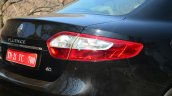 2014 Renault Fluence facelift review taillight