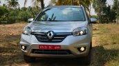 2014 Renault Koleos facelift review front fascia