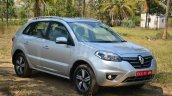 2014 Renault Koleos facelift review front quarter