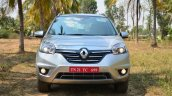 2014 Renault Koleos facelift review front