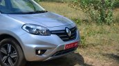 2014 Renault Koleos facelift review headlight and grille