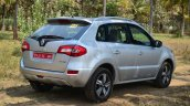2014 Renault Koleos facelift review rear quarter
