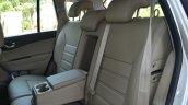 2014 Renault Koleos facelift review rear seat