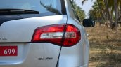 2014 Renault Koleos facelift review taillights
