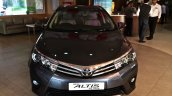 2014 Toyota Corolla spied Indian dealership front
