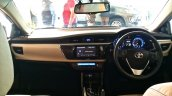 2014 Toyota Corolla spied Indian dealership interiors