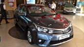 2014 Toyota Corolla spied Indian dealership