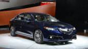 2015 Acura TLX 2014 New York Auto Show front three quarter