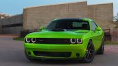 2015 Dodge Challenger front three quarter press shot