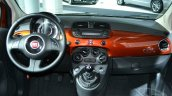 2015 Fiat 500 dashboard at the 2014 New York Auto Show