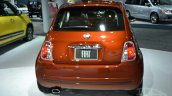 2015 Fiat 500 rear at the 2014 New York Auto Show