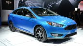 2015 Ford Focus at 2014 New York Auto Show - front three quarter