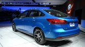 2015 Ford Focus at 2014 New York Auto Show - rear three quarter left
