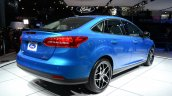 2015 Ford Focus at 2014 New York Auto Show - rear three quarter