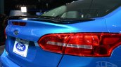 2015 Ford Focus at 2014 New York Auto Show - spoiler