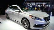 2015 Hyundai Sonata at 2014 New York Auto Show - front three quarter