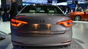 2015 Hyundai Sonata at 2014 New York Auto Show - rear