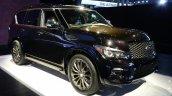 2015 Infiniti QX80 at 2014 NY Auto Show front quarter