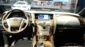 2015 Infiniti QX80 at 2014 NY Auto Show interior