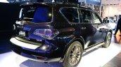 2015 Infiniti QX80 at 2014 NY Auto Show rear quarter