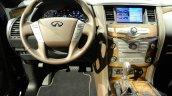 2015 Infiniti QX80 at 2014 NY Auto Show steering