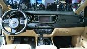 2015 Kia Sedona at 2014 New York Auto Show - dashboard