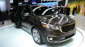 2015 Kia Sedona at 2014 New York Auto Show - front three quarter