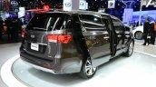 2015 Kia Sedona at 2014 New York Auto Show - rear three quarter right