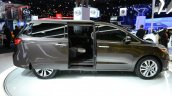 2015 Kia Sedona at 2014 New York Auto Show - side doors open