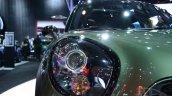 2015 MINI Countryman Facelift at 2014 New York Auto Show - headlamp detail