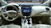 2015 Nissan Murano dashboard at 2014 New York Auto Show