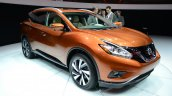 2015 Nissan Murano front three quarters at 2014 New York Auto Show