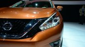 2015 Nissan Murano headlamp at 2014 New York Auto Show