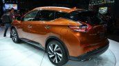 2015 Nissan Murano rear three quarters at 2014 New York Auto Show