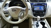 2015 Nissan Murano steering wheel at 2014 New York Auto Show