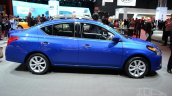 2015 Nissan Versa facelift at 2014 New York Auto Show - side