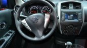 2015 Nissan Versa facelift at 2014 New York Auto Show - steering