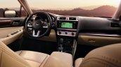 2015 Subaru Outback dashboard press shot