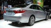 2015 Toyota Camry at 2014 NY Auto Show rear quarter