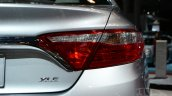 2015 Toyota Camry at 2014 NY Auto Show taillight