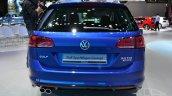 2015 VW Golf Sportwagen at 2014 NY Auto Show rear
