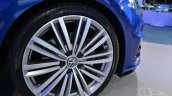2015 VW Golf Sportwagen at 2014 NY Auto Show wheel