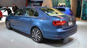 2015 VW Jetta at 2014 NY Auto Show rear quarter