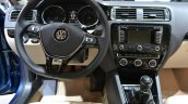2015 VW Jetta at 2014 NY Auto Show steering